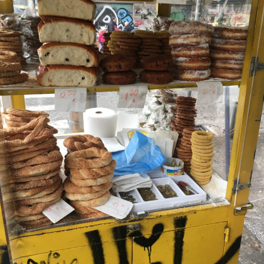 Street Cart in Athens
