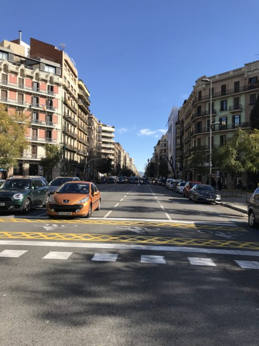 Driving in Barcelona