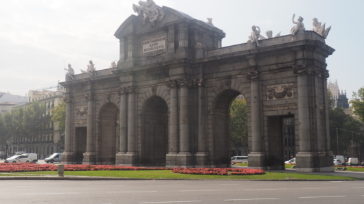 Madrid's Arc De Triomphe