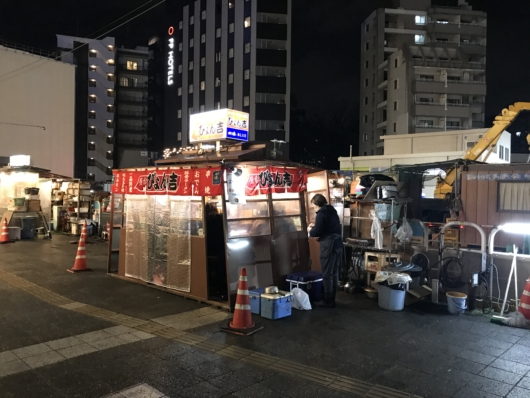 Food Stall outside Hotel